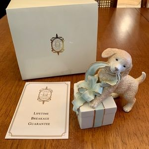 Lenox Simply Irresistible Dog with Gift Sculpture